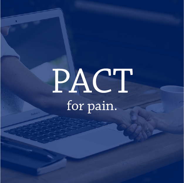 Pact for pain